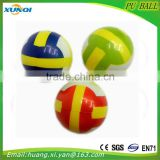 volleyball children toy balls Soft anti stress ball,PU foam Ball