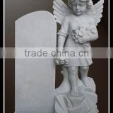 Cheap Chinese Baby Tombstone With Angel Statue