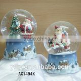 Resin Christmas Craft, Santa Claus Resin Christmas Craft, Snow Globe Resin Christmas Craft
