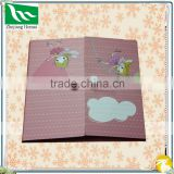 Pink cute girl custom memo sticky paper memo pads