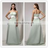 2013 Latest design Satin Long Bridesmaid Dresses LL97