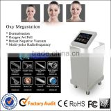 Face Lift Rf Oxygen Facial 2 In 1 Ultrasonic Skin Scrubber Machine Oxy Megastation Portable Oxygen Facial Machine