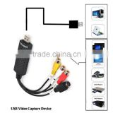 Easycap USB Video Capture Adapter TV DVD VHS Captura de v deo Card Audio AV for Computer/CCTV Camera USB 2.0 UTV007