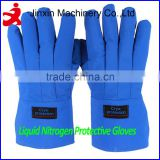 Factory supply waterproof cryogen safety gloves/liquid nitrogen gloves/cryogenic gloves for liquid nitrogen