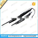 "18"" 24"" universal silicone wiper blade with spray nozzle"