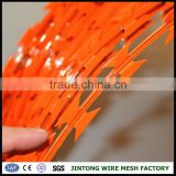 galvanized welded wire fence panels barbed wire price per meter philippines razor barbed wire mesh fence