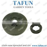 Chainsaw sprocket rim