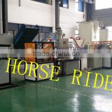 PVC hose pipe machine/ PVC garden line products/PVC fibre reinforced hose production line