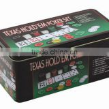 200pcs Poker Set in Tin box
