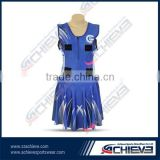 wholesale cheap custom sublimation netball dress netball skirt