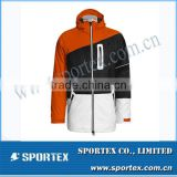 Yellow Black White Jointing Men Ski Wear 2014