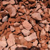 Garden Decoration Volcanic Lava Rock Tumbled Alkali Proof
