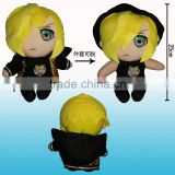 Hot sale japanese yuri on ice anime doll Yuri Plisetsky cartoon soft character plush toys