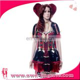 Carnival Funny vampire queen of heart costume hot selling