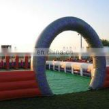 inflatable pony hop/inflatable horse racing/inflatable derby horse racetrack/Derby hoppers