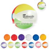 Tow-tone Round Multi-Color Promotional Beach Ball - 16""