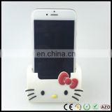 Novetly fashion cartoon hello kitty pvc car mobile phone holder