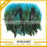 wholesale rooster feather trimming for sale for decoration