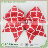 Handmade Printed Cheer Bow Boutique Wholesale Hair Bows