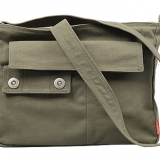 Strong canvas messenger bag for men travel bag