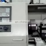 CNC lathe machinr for metal thread CK6136 industrial Tabletop CNC Drill lathe cutting machine working
