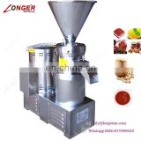 Industrial Making Peanut Paste Cocoa Bean Grinding Colloid Mill Tomatoes Grinder Machine