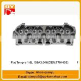 excavator engine parts Fiat Tempra 1.6L 159A3.046(OEN 7704453) cylinder head