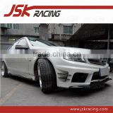 2011-2013 P DESIGN STYLE HALF CARBON FIBER BODY KIT FOR MERCEDS BENZ C-CLASS W204 AMG C63(JSK060153)