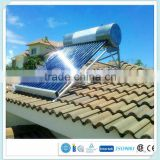 Chinese factory Portable homemade integrative low pressure solar power water heater for bathroom or kitchen