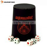 red bull energy drink plastic casino dice shaker