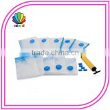 700*100CM Reusable Bedding Use and PA+PE Quality Plastic clear vacuum compressed bags for clothing and bedding
