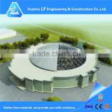 Solid light space frame steel structure function hall design