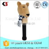 Factory custom top quality animal shade golf headcover wholesale