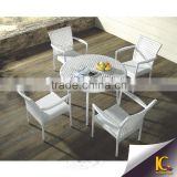 Famous Urban Clear Comfort Plastic wicker Leisure Terrace Furniture