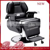 Synthetic Leather Quality Guarantee Barber Chair with Footrest , Professional Salon Hair Chair Supplier