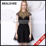 Factory price new arrival ladies diamond black 100% handmade ladies mini skirt used dresses