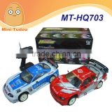 Mini Tudou MT-HQ703 27mHz Remote Control High Speed 50 km/h Drift Toys 1:10 Scale Nitro Rc power Car
