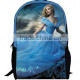 Cinderella Ariel Aurora Belle Princess girls school bags for kids cute cartoon student school bag cinderella backpack