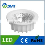 Wholesale kinds of LED Downlight 70-100lm/w 7w 12W 15W 20w Epistar chip COB led downlights round recessed mounted