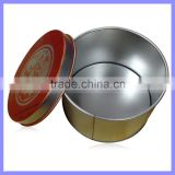 2.5 Inch Round with Window Candy/Tea/Coffee Storage Container Mini Tin Box