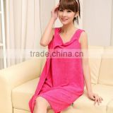 Wholesale Plain Microfiber Beach Towel Dress