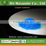 Copper Sulfate Pentahydrate CuSO4.5H2O Industrial Feed Grade Manufacturer