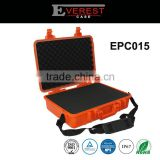 OEM Injection Moulding Plastic Waterproof Carrying Case For Electronics equipment with foam insert