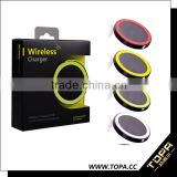 Mobile Phone Use and Electric Type aluminum frame wireless charger for all qi mobile phone