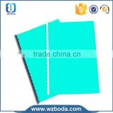 pvc-cover notebook with pen loop ,binding machine ,with high quality