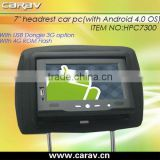 Capacitive touch Android 4.0 PC for advertising on Taxi/bus