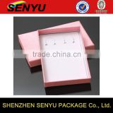 2016 custom Pink Series design, small retail jewelry paper gift box packaging                                                                                                         Supplier's Choice