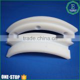 High impact wear-resisting cnc machining ballistic plastic sheets Tivar1000 white uhmwpe bending guide                                                                         Quality Choice