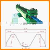 China 2 wave highway guard rail forming machine/Cheaper Price For Highway Guardrail Frame Roll Forming Machine