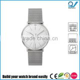 Most extraordinary designing timepiece germany design brand stainless steel milanaise bracelet watch